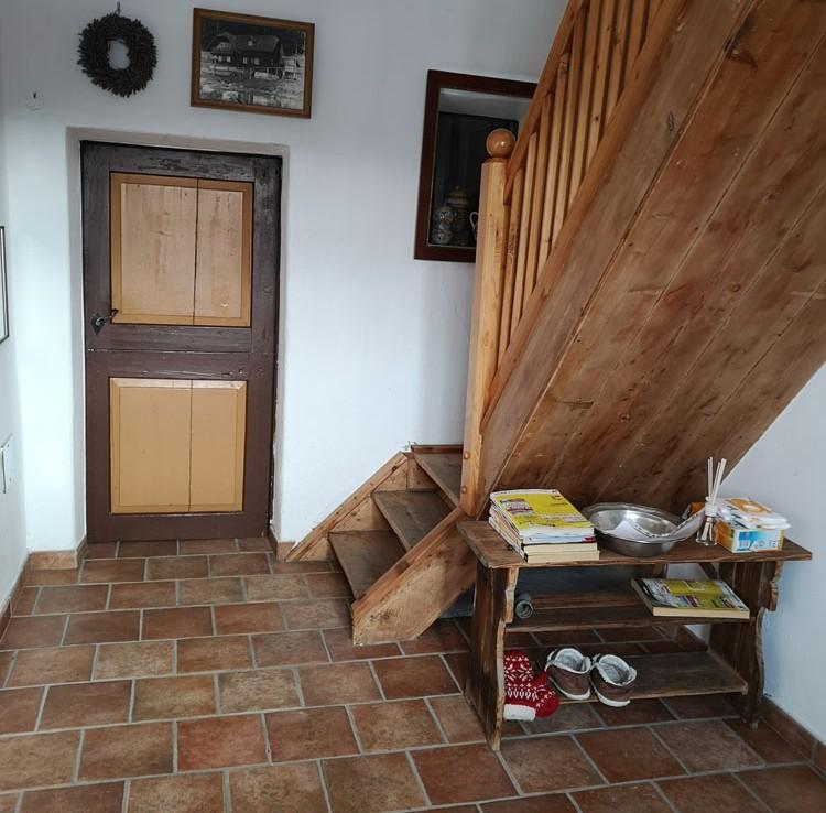 Stilvolles Wohnen im Gailtal - Treppe